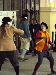 """""""Steel and Song"""", Great Hall, Stirling Castle (davidmcnuh) Tags: school castle scotland hall stirling historic reenactment defence greathall mairih lothene steelandsong"""