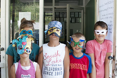 (Riccardo Senia) Tags: school summer portrait children child estate mask bambini bosnia maschera scuola bambino erzegovina
