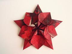 Sakura Star - David Martínez (Monika Hankova) Tags: star origami sakura paperfolding pentagon papercraft martínez