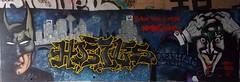 Everything Burns with Snot and Pese (.ZenerOner.HTB.SFM.) Tags: its graffiti message burns batman joker about everything sending htb oner hostiles zener