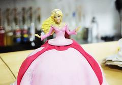 Princess Barbie Cake (Animated Cupcakes) Tags: cake princess barbie