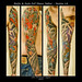 Raijin & Fujin Full Sleeve Tattoo - Session 14