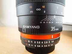 Samyang 35mm f/1.4 for sale (TCR4x4) Tags: 35mm for forsale sale f14 ae samyang samyang35mmf14ae