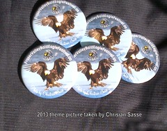"2013 Souvenir Button $3 e or 4/$10 • <a style=""font-size:0.8em;"" href=""https://www.flickr.com/photos/51193137@N08/10675202775/"" target=""_blank"">View on Flickr</a>"