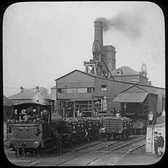 Prospect Pit, Standish, Wigan Coal & Iron Co Ltd circa 1905 (Pitheadgear) Tags: mine loco pit steam lancashire locomotive geology miner miners colliery wigan ncb industriallocomotive wigancoaliron