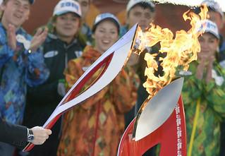 【波士顿大图集】2014冬奥会火炬传递