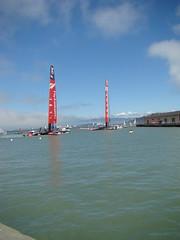 030 (AserSand) Tags: sanfrancisco water catamaran worldcuprace louisvuittoncup2013