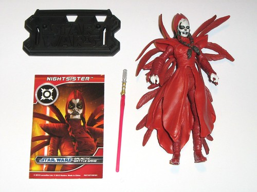 nightsister star wars the clone wars battle packs darth maul returns target exclusive 3 pack hasbro 2012 loose complete