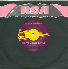 Mary Jane Girls - In My House - 1985 (@ablekay47) Tags: music inch label vinyl 7 45 cover single record sleeve rpm