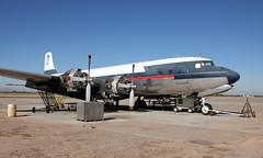 International Air Response Douglas DC-7B N4887C '33' (ChrisK48) Tags: airplane aircraft dc7 p08 douglasdc7b coolidgeaz n4887c coolidgemunicipalairport internationalairresponse tanker33 cn45351 formerairtankers formerdeltaairlines