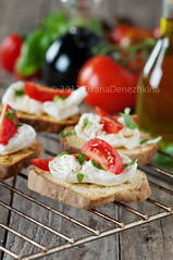 Italian crostini (Oxana Denezhkina) Tags: food green vegetables closeup tomato bread lunch pepper cuisine healthy italian mediterranean view top traditional tomatoes olive tasty vegetable sandwich fresh gourmet delicious snack meal vegetarian oil garlic basil appetizer grilled herb mozzarella bruschetta toasted crostini canape antipasto