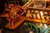 Public Market Center and Great Wheel (Dennis Valente) Tags: seattle usa washington downtown onceuponatime gingerbreadhouse sheraton fundraiser jdrf juvenilediabetesresearchfoundation holidaycheer 2013 architecturefirms gingerbreadvillage 21stannual theresarhymeandareasonthisholidayseason
