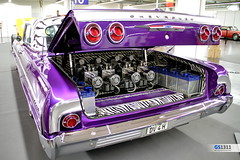1964 Chevrolet Impala Lowrider (Georg Sander) Tags: pictures auto show old wallpaper classic cars chevrolet car photo high essen automobile foto purple image photos alt low picture mobil images lila chevy fotos vehicle resolution oldtimer motor autos bild impala rider ems lowrider bilder 1964 motorshow violett automobil 2013