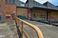 Warehouse (darkday.) Tags: urban graffiti australia brisbane qld exploration milf ue urbex
