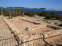 Phoenician ruins - Sa Caleta