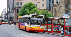 First Leeds N272JUM (The original SimonB) Tags: film buses 2000 transport leeds july first scanned