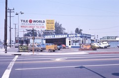 Carpet Bargains and Statueland, Harbor Blvd, Garden Grove, 1974 (Orange County Archives) Tags: california history election signage historical southerncalifornia orangecounty 1970s remnants gardengrove statueland campaignsign campaignposter yesterland tileworld orangecountysheriff orangecountyarchives orangecountyhistory bradgates orangecountyboardofsupervisors larryschmit carpetbargains antiqueingandmoldschool laurenceschmit wernerweiss beforeyoudecideonanytilevisittheworldslargesttilestore