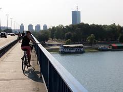 Op de fiets in Belgrado