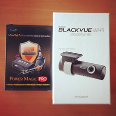 Dashcam Pittasoft BlackVue DR500GW-HD - WoodyLo.fr