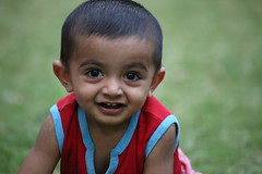 Love those bunny teeth (Rahul Gaywala) Tags: garden kid play innocent daughter son priyanka somani panav gaywala