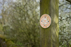 Up'ards Walk Marker