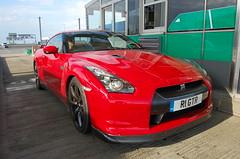 Nissan GT-R (D's Carspotting) Tags: nissan gtr france coquelles calais red 20100613 r1gtr le mans 2010 lm10 lm2010