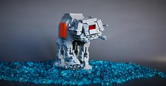 Chibi AT-ACT (adde51) Tags: adde51 lego moc starwars star wars atat walker rogueone rogue one chibi chibistyle style water imperial foitsop atact act