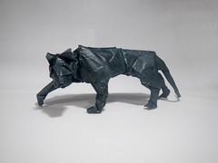 Black Panther - Kunsulu Jilkishiyeva (quetz60) Tags: black panther kunsulu jilkishiyeva origami