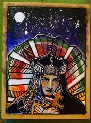 image_14 (Alien_Limb) Tags: painting saint religious media acrylic art stained glass pop bright galaxy mixed