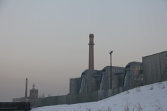 EC-1 heating plant complex , Łódź 15.02.2017 (szogun000) Tags: łódź poland polska city cityscape buildings architecture old modern industrial industry heatingplant complex smokestacks urban snow winter łódzkie canon canoneos550d canonefs18135mmf3556is