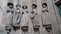 Sieben kluge... (wolfgangstreit) Tags: dom magdeburg jungfrauen skulptur allegorie