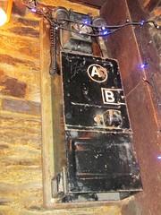 Camelford old AB phone (Bridgemarker Tim) Tags: edinburgh pubs inns signs ale bitter beer scotland eh1 eh8