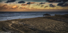 Setting Sun in KDH (mjdrhd) Tags: waves beach ocean oceanview seascape clouds sky color outerbanks