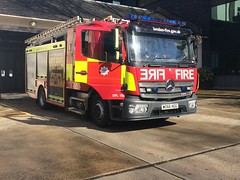 NEW LFB Euston Pump (slinkierbus268) Tags: lfb london fire brigade euston firestation fireappliance fireengine mercedes atego mark 3 brand new central