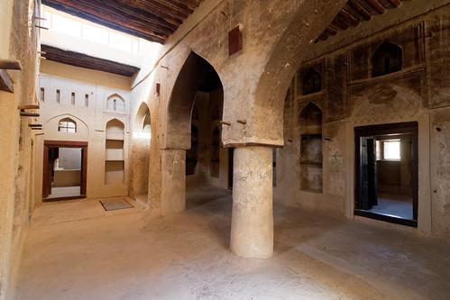 Bahla Fort: Inside