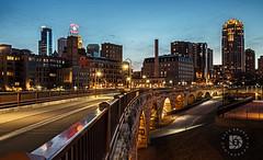 Sunset In Minneapolis, MN #321 (DBruner240) Tags: stone arch bridge minneapolis mn minnesota ngf sunset skyline walkway