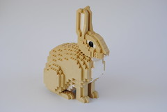Rabbit (Felix Jaensch) Tags: rabbit lego sculpture mammal animal pet easter