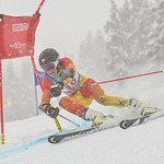 April 14th, 2017 - Raphael Lessard of Canada ties for third place in the U16 Mackenzie Investments Whistler Cup Mens GS. - Photo By Scott Brammer - coastphoto.com