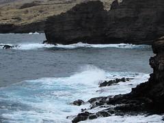 Kalaeokahano Pt. (thomasgorman1) Tags: lava rock sea ocean view lanai hawaii waves
