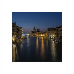 The very first shot (Explore 25/03/17 #32) (andyrousephotography) Tags: venice italy santamariadellasalute basilica minor church romancatholic architecture grandcanal lamps mooringposts shadows boats bluehour early morning accademia bridge andyrouse canon eos 5d mkiii