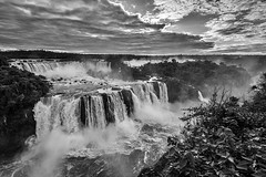 "Y UASU (""Big Water"" in Tupi-Guarani) (dwfphoto) Tags: brazil fozdoiguassu iguassufalls waterfalls waterfall"