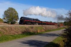 Struttin' (H-bob-omb) Tags: norfolk western nw 484 steam engine 611 railway kannapolis north carolina streamlined streamlining