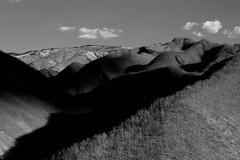 (Flavio Calcagnini) Tags: val trebbia bobbio marsaglia italy italia montagne mountain black white bianco nero monocromo alberi bosco nuvole cielo luci ombre flavio calcagnini piacenza photography landscape paesaggio vast panorama