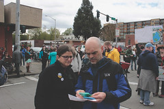 we share ideas (FADICH PHOTOGRAPHY) Tags: science march themarchforscience 2017 april earthday earth day lisaparshley activism protest olympia washington environmentalism gogreen clean energy vote womenofscience climatechange climate change global warming poverty war drought resourcescarcity