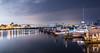 Harbor (D Pavlov) Tags: boats bridge city coronadobridge night sandiego seaportvillage water
