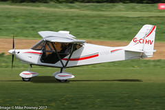 G-CIHV - 2014 build Best Off Skyranger Nynja, arriving on Runway 26R at Barton (egcc) Tags: bmaahb652 barton bestoff cityairport dawson egcb gcihv lightroom manchester microlight nynja skyranger