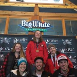 Big White Western Ski Cross Finals OPEN RACE 1b WOMEN PHOTO CREDIT: Todd Cashin