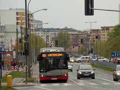 Solaris Urbino 18 Hybrid, #8399, MZA Warszawa (transport131) Tags: bus autobus mza warszawa ztm warsaw solaris urbino hybrid