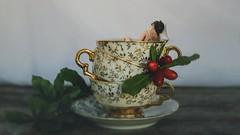 268/365 Sleeping Time (Katrina Y) Tags: selfportrait miniature tinypeople tea teacup 2017 365project surreal surrealphotography conceptual concept creative artsy art mood artistic sleep