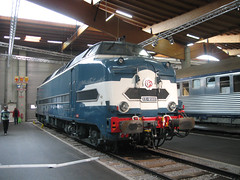 SNCF Class CC65001 (andreboeni) Tags: train railway railroad railways cheminsdefer sncf citédutrain museum musée diesel loco locomotive 65001 cc65001 french francais class classe